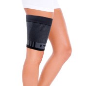 OrthoSleeve QS4 Thigh Bracing Sleeve with Built-in ITB Brace (One Sleeve) for thigh pain, hamstring weakness and ITB syndrome