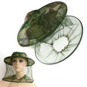 Kicode 1PC Bug Insects Bee Mosquito Hiking Camouflage Hat Protector Cap Outdoor Camping