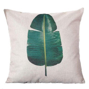 Cushions Cover, Hirolan Pastoral Style Square Pillow Cover Cushion Case