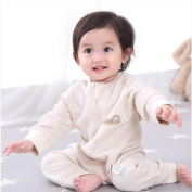 SHYI Baby Sleeping Bag Suitable for Air-conditioned Rooms Cotton One-Piece Pyjamas