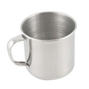 Gemini_mall® Coffee Tea Stainless Steel Mug Cup Outdoor Camp Camping