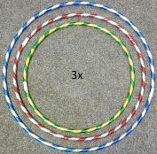 Ik-Onkar 3x kids adult Weight Loss Sports hoola Hoop Series smal medium and large