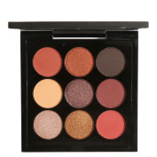 Eyeshadow Palette, Bestow Women 9 Colours Focallure Retro Cosmetic Smoky Eye Shadow Makeup Makeup Kit Charming
