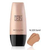 Perfect Skin Foundation Foundation Fluid – Long Tenuta 103 Sand 30 ml – mesauda