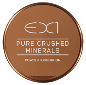 EX1 Cosmetics Pure Crushed Mineral Powder Foundation, Number 7.0