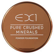 EX1 Cosmetics Pure Crushed Mineral Powder Foundation, Number 6.0