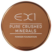 EX1 Cosmetics Pure Crushed Mineral Powder Foundation, Number 8.0