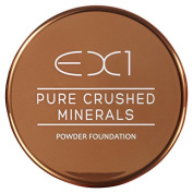 EX1 Cosmetics Pure Crushed Mineral Powder Foundation, Number 13.0