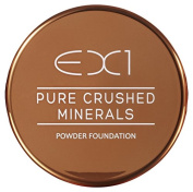 EX1 Cosmetics Pure Crushed Mineral Powder Foundation, Number 4.0