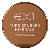 EX1 Cosmetics Pure Crushed Mineral Powder Foundation, Number 3.5