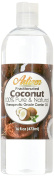 Fractionated Coconut Oil - 470ml (Ounce) Bottle (100% Pure & Natural) - Perfect Carrier Oil for Diluting Essential Oils - Work Great as a Massage Oil, Skin Moisturiser, and More!