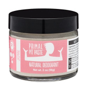 PRIMAL PIT PASTE All Natural Jasmine Deodorant | 60ml Jar | NO Aluminium, NO Parabens | For Women and Men of All Ages | Non-GMO, Cruelty Free, Earth Friendly, BPA Free