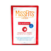 MissFits Nutrition The Multitasker (Vegan) - Naturally Flavoured Protein Powder with Added Essential Nutrients - 18 x 25g Sachets