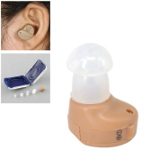 GuDoQi Mini Hearing Aids Adjustble Sound Amplifier Invisible Hearing Device for Hearing Impaired Person