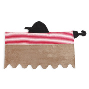 Demdaco Baby Hooded Bath Towel, Pirate