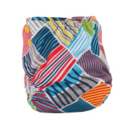 Nappy Cover ,Baby Adjustable Waterproof Breathable Reusable . Fits Nappy Sizes 0-2Year