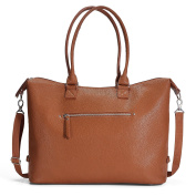 Sabrina Soto Cognac Shoulder Nappy Bag : The Perfect Gift for a New Mom