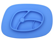 Children Place Mat,Baby One-piece Non-Slip Silicone Placemat and Baby Bowls BPA-Free FDA Approved - 100% Safe Food Tray
