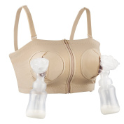 Hands-Free Adjustable Nursing Bra Breast Pump Holding Bra for Breastfeeding by Momcozy -Suitable for Breast-Pumps by Medela, Lansinoh, Philips AVENT, Bellema, Spectra Baby, Evenflo and more