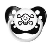 Ulubulu Expressions Pacifier Skulls Black