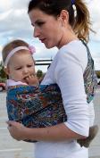 Lite-on-Shoulder Baby Sling Ergonomic, 100% Cotton , Adjustable Baby Carrier