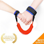Baby Child Anti Lost Wristband Safety Hook and loop Wrist Link Toddler Leash Baby Safety Strap 180cm