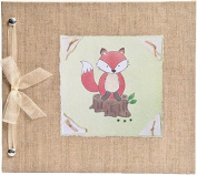 Hugs and Kisses XO Fox Baby Memory Book