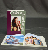 KVD Albums Soft Brag album Collection, Holds 36 4x6 photo, 1 per page Redesigned photo FRAME and sleeves for easy loading,