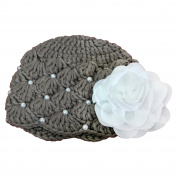 Handmade Crochet Beanie Baby Girl Hat Baby Shower Gift Baby Arrival Gift