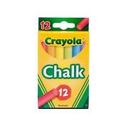 Binney & Smith Children's Chalk assorted pack of 12