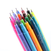 Le Pen 20 Colour Fine Line Marker Pen Set