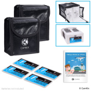 Travel Safety Pack for DJI Phantom 4 For 4 Batteries - Includes