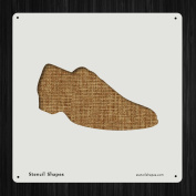 Shoe Classy Fashion Footwear Formal Style 19597 DIY Plastic Stencil Acrylic Mylar Reusable