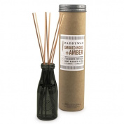 Paddywax Relish Jar Diffuser 120ml - Smoked Wood & Amber