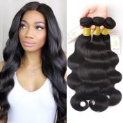 Fumigirl 20cm ~80cm Brazilian Virgin Hair Body Wave 1 Bundle of 20cm 100g Grade 7A Unprocessed Virgin Human Hair Weave Weft Natural Colour