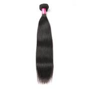 Subella Hair Brazilian Virgin Real Human Hair Straight Hair Extensions 1 Bundle 7A Unprocessed Human Hair Weft