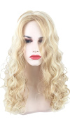 Long Wave Golden Ombre Beige Colour Highlights Cosplay Wigs 005GL