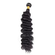 Cheap Peruvian virgin hair Deep Wave 1 Bundles 8A unprocessed virgin hair Human Hair Weft Mixed Length Natual Colour