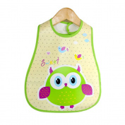 Lovely Waterproof Toddler Apron Bib Cartoon apron for Feeding Baby