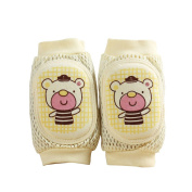 TRIEtree Baby Crawling Elbow Pads Anti-fall Knock Guard Elbow Cartoon Bear Pattern for Children