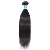 Vinsteen Brazilian Virgin Hair Straight 1 Bundles 100g/pcs 8-80cm Human Hair Weaves Natural Colour Hair Extensions Dyeable 8A Best Quality