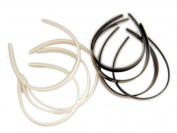 "1/4"" (5mm) Plastic Craft Headbands - fascinator wholesale lot - 12pk"