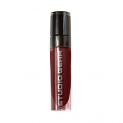 Studio Gear Whipped Stain Lip Gloss, Long Wear Formula, Lightweight, Bold, One Coat, Burgundy