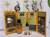 Jagua Gel 75ml- 6 Detailing Tips- 70+ Designs- Made in USA Supports Non-profit