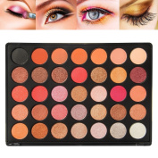 Miskos 35 Colour Eyeshadow Palette Make up Pallete Natural Glow Colour Shimmer Matte Beauty Makeup Eye-shadow Set