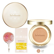 Sulwhasoo New Perfecting Cushion EX SPF50+/PA+++ (Full Size 15g + Refill 15g) High coverage+ Special Gifts! (25
