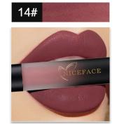 Lip Gloss,Enjocho New Matte Long Lasting Waterproof Liquid Lipstick Lip Makeup 18 Colours