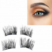 Aurorax 8Pcs Reusable-Magnet-Sheet-For-3D-Magnetic-False-Eyelashes-Extension-Handmade