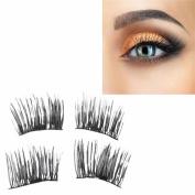 Aurorax 4Pcs Reusable-Magnet-Sheet-For-3D-Magnetic-False-Eyelashes-Extension-Handmade