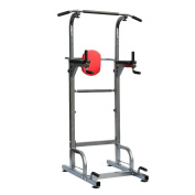 Homgrace Power Tower 230kg Dip Station Adjustable Height for Home Gym